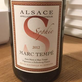 Marc Tempé Pinot Blanc Sophie