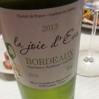 La Joie l'Eva Bordeaux Blanc