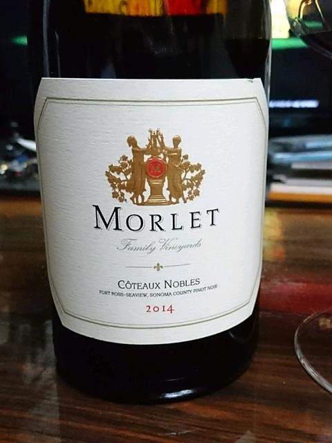 Morlet Côteaux Nobles Sonoma Coast Pinot Noir