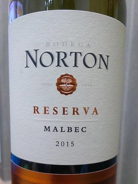 Norton Reserva Malbec