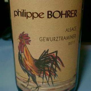 Philippe Bohrer Gewürztraminer(フィリップ・ボレール ゲヴェルツトラミネール)