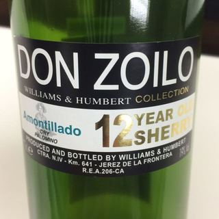 Williams & Humbert Don Zoilo Amontillado 12 Years Old Sherry