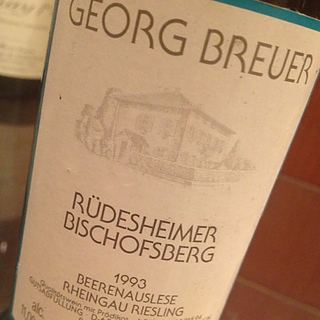 Georg Breuer Rüdesheim Bischofsberg Beerenauslese Riesling