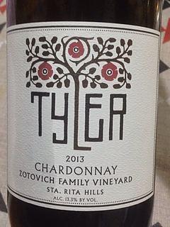 Tyler Chardonnay Zotovich Family Vineyard