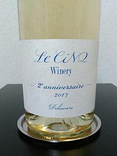 Le Cinq Winery Delaware 2er Anniversaire