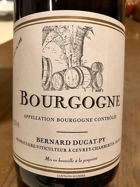 Bernard Dugat Py Bourgogne Rouge(ベルナール・デュガ・ピィ ブルゴーニュ ルージュ)