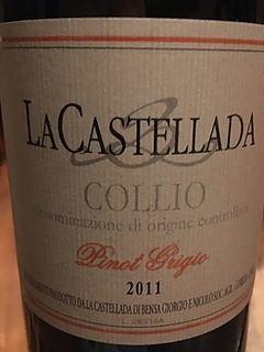 La Castellada Collio Pinot Grigio