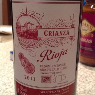 Selected by Tesco Rioja Crianza