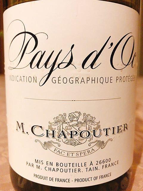 M. Chapoutier Pays d'Oc Blanc
