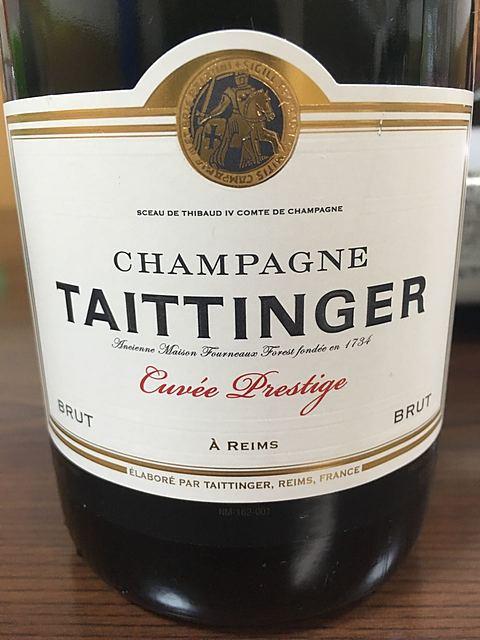 Taittinger Cuvée Prestige Brut