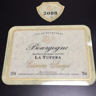 Etienne Sauzet Bourgogne La Tufera