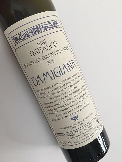 Vini Rabasco Damigiana Rosato Colline Pescaresi(ヴィニ・ラバスコ ダミジャーナ ロザート コッリーネ・ペスカレージ)