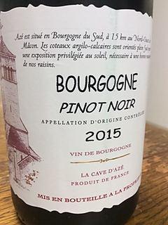 La Cave d'Azé Bourgogne Pinot Noir