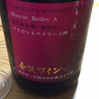 金渓ワイン Yamagata スパークリング 赤