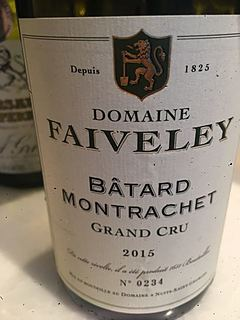 Dom. Faiveley Bâtard Montrachet Grand Cru