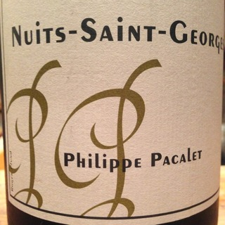 Philippe Pacalet Nuits Saint Georges Blanc