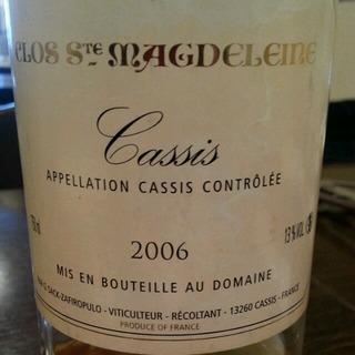 Clos Sainte Magdeleine Cassis Blanc