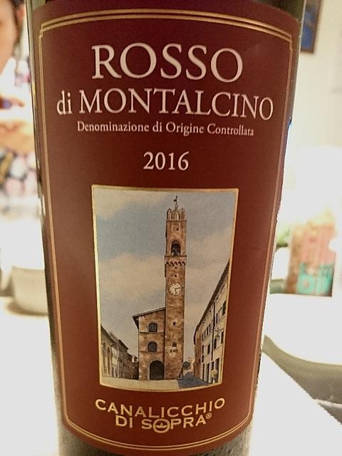 Canalicchio di Sopra Rosso di Montalcino(カナリッキオ・ディ・ソプラ ロッソ・ディ・モンタルチーノ)
