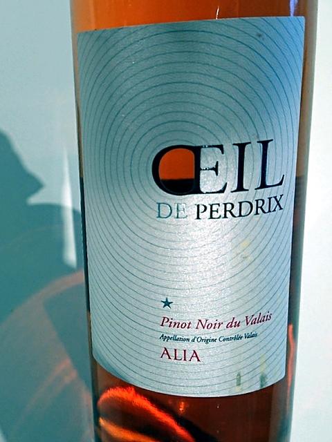 Alia Oeil de Perdrix Pinot Noir Rosé