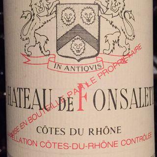 Ch. de Fonsalette Côtes du Rhône Réservé Rouge