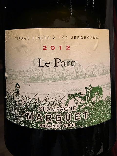 Champagne Marguet Le Parc