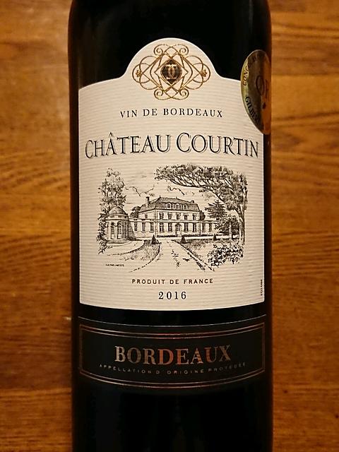 Ch. Courtin Bordeaux(シャトー・クルタン ボルドー)