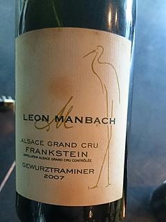 Leon Manbach Grand Cru Frankstein Gewürztraminer