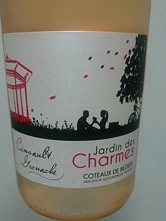 Jardin des Charmes Cinsault Grenache Rosé