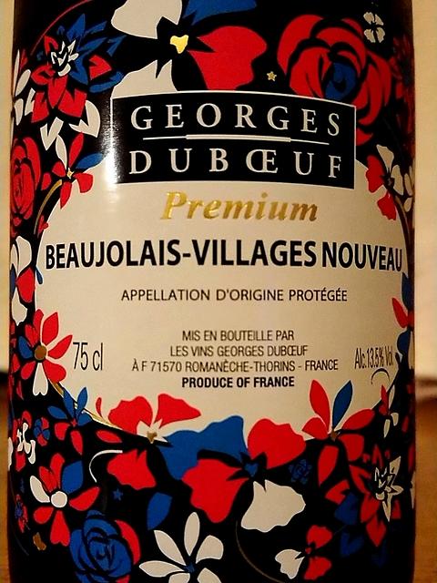 Georges Duboeuf Beaujolais Villages Nouveau(ジョルジュ・デュブッフ ボージョレ・ヴィラージュ ヌーヴォー)