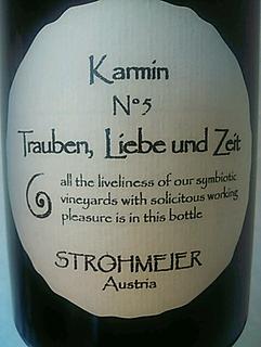Strohmeier Trauben, Liebe und Zeit Karmin N°5