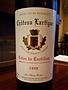Ch. Lartigue Côtes de Castillon(1998)
