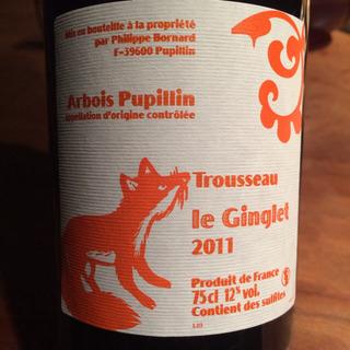 Philippe Bornard Arbois Pupillin Trousseau Le Ginglet