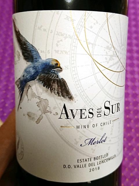 Aves Del Sur Merlot