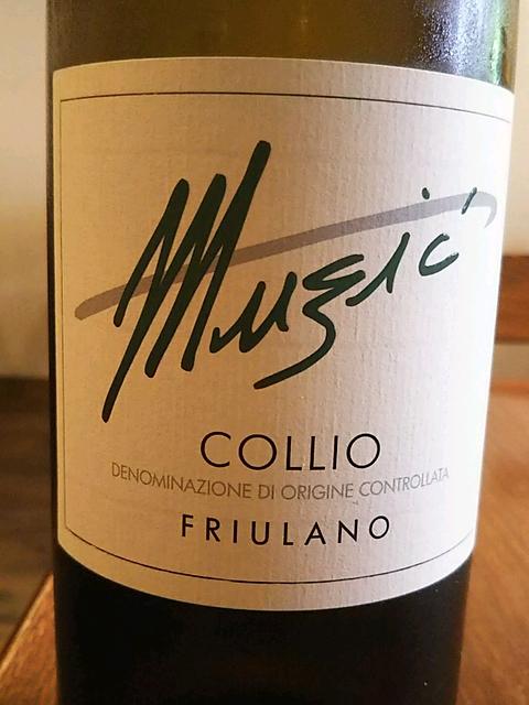 Muzic Collio Friulano Valeris(ムズィッチ コッリオ フリウラーノ ヴァレリス)