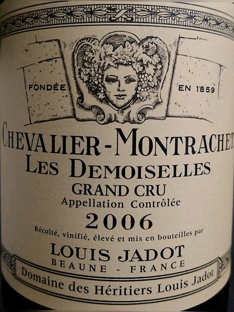 Louis Jadot Chevalier Montrachet Les Demoiselles Grand Cru