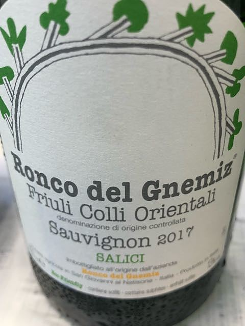 Ronco del Gnemiz Sauvignon Salici