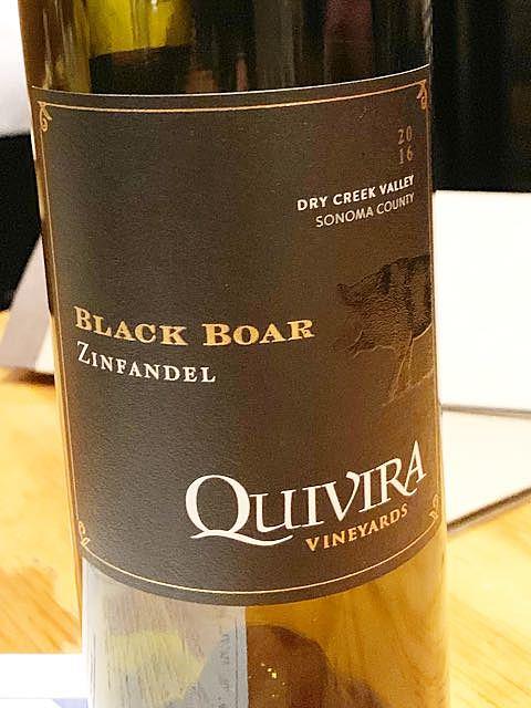 Quivira Black Boar Zinfandel(キヴィラ ブラック・ボア ジンファンデル)