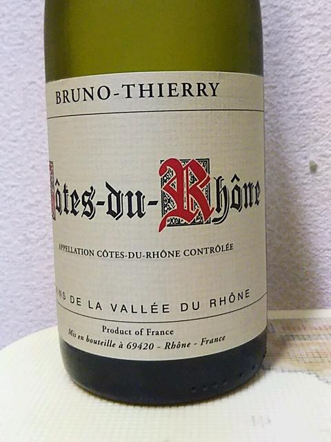 Bruno Thierry Côtes du Rhône Rouge(ブルーノ・ティエリー コート・デュ・ローヌ ルージュ)