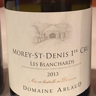 Dom. Arlaud Morey Saint Denis 1er Cru Les Blanchards