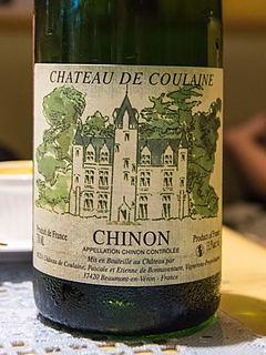 Ch. de Coulaine Chinon Blanc