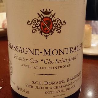 Dom. Ramonet Chassagne Montrachet 1er Cru Clos Saint Jean