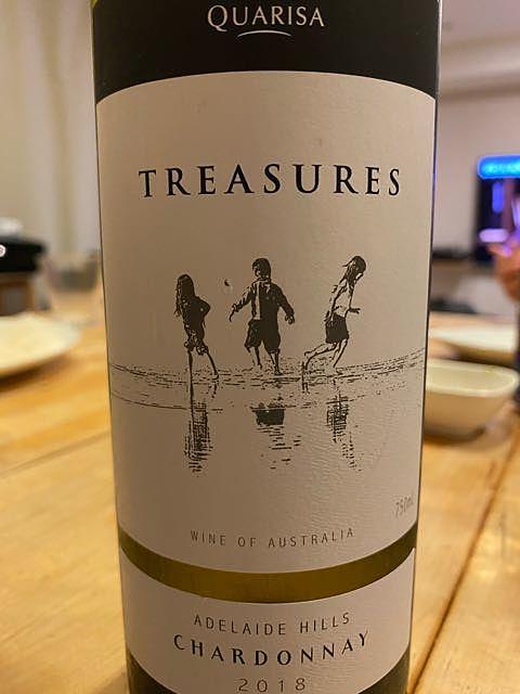 Quarisa Treasures Chardonnay(クアリサ トレジャーズ シャルドネ)