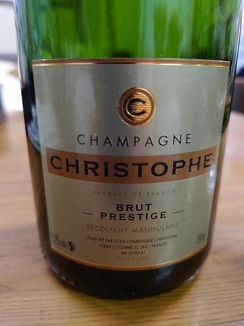 Champagne Christophe Brut Prestige(シャンパーニュ・クリストフ ブリュット プレスティージュ)