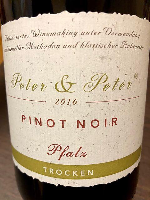 Peter & Peter Pinot Noir trocken(ピーター&ピーター ピノ・ノワール トロッケン)