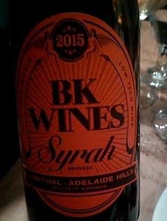 BK Wines Syrah(ビーケー・ワインズ シラー)
