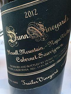 Dunn Vineyards Cabernet Sauvignon Howell Mountain Trailer Vineyard(ダン・ヴィンヤーズ カベルネ・ソーヴィニヨン ハウエル・マウンテン トレイラー・ヴィンヤード)