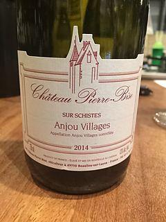 Ch. Pierre Bise Anjou Villages Sur Schistes(シャトー・ピエール・ビーズ アンジュ・ヴィラージュ シュー・シスト)