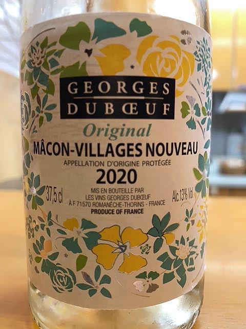 Georges Duboeuf Mâcon Villages Nouveau