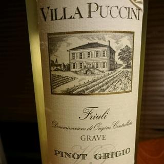 Villa Puccini Pinot Grigio Grave Friuli