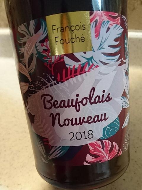 François Fouché Beaujolais Nouveau